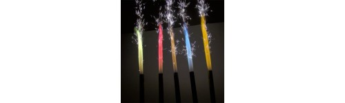 60 Second Coloured Cake Sparklers