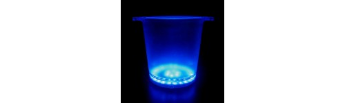 LED Glow Ice Buckets