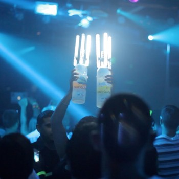Pack of 25 LED Glow NITE SPARX (LED Champagne Sparkler)
