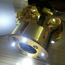 Individual LED Champagne Bottle Crown