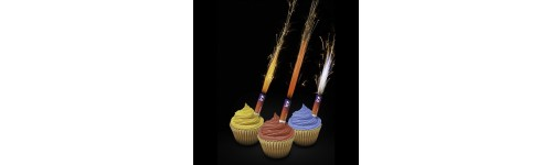 30 Second Colour Changing Cake Sparklers