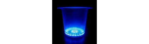 LED Glow Ice Buckets