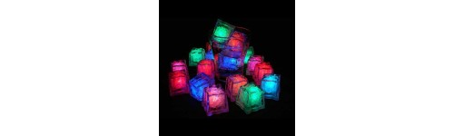 Switch Activated Glowing Ice Cubes